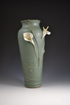 Calla Lilly Vase #11 / Front view