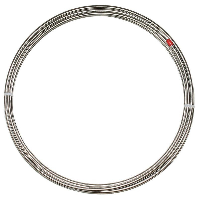 4OMR - 1/4 inch Brake Line Tubing Roll; 20 foot; Steel - SSTubes