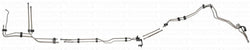 DFL0001SS- 01-03 GM 2500HD/3500 Crew Cab 6.6L Duramax Diesel Complete Fuel Line Kit; Stainless