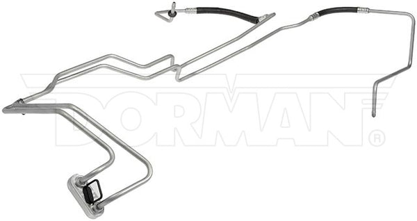 TTC0703OM- 07-13 GM 2500 with 6L90 Transmission Cooler Lines; Steel