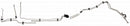 DFL0003SS - 01-03 GM 2500HD/3500 Ext Cab 6.6L Complete Fuel Line Kit; Stainless - SSTubes