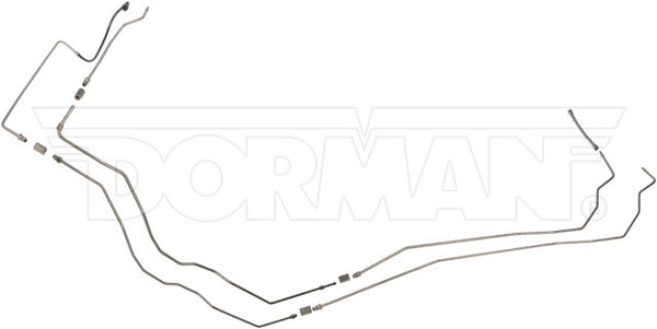 DFL0011SS - 03-04 Saturn Ion Complete Fuel Line Kit; Stainless - SSTubes