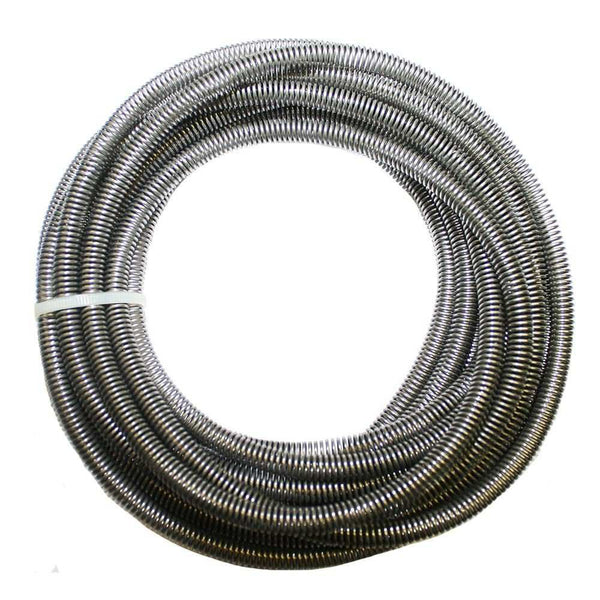 A31R- Armor Roll: A31R - 3/16 inch Spiral Tubing Armor; Loose Wrap, 20 ft., Stainless - SSTubes