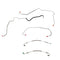 AKT0004OM- 00-05 Chevy Impala w/ ABS; Front Brake Line Kit; Steel - SSTubes