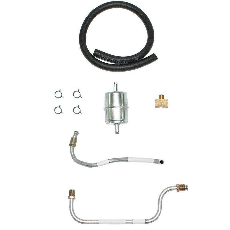 APC6401OM- 64-66 Buick 425 2x4 Pump to Carb, Fuel Line Set; Steel - SSTubes