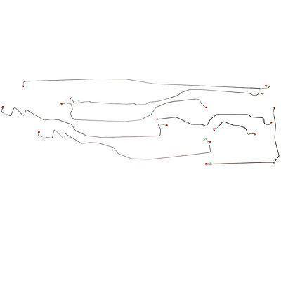 CBK0076SS- 05-07 GM 1500 Truck 4wd, Reg Cab/Long Bed; Complete Brake Line Kit; Stainless - SSTubes
