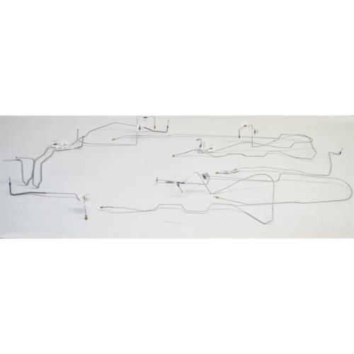 CBK0188SS - 98-02 Camaro/Trans Am, No Traction; Complete Brake Line Kit; Stainless - SSTubes