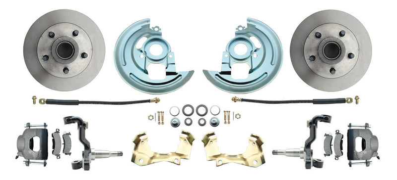 FDC6769- 67-69 Camaro / Firebird Front Disc Brake Conversion Kit - SSTubes