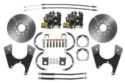 BDC0002- 55-68 Chevy Full Size Car Rear Disc Brake Conversion Kit for 10 or 12 Bolt Axles