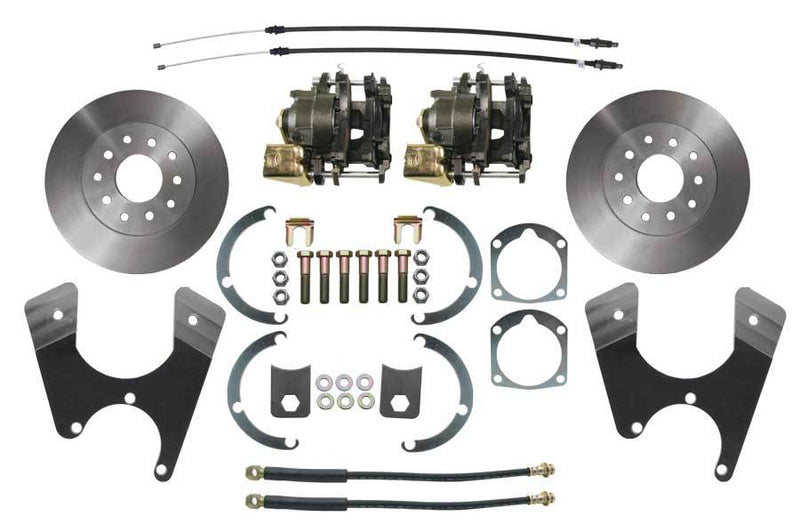 BDC0002- 55-68 Chevy Full Size Car Rear Disc Brake Conversion Kit for 10 or 12 Bolt Axles - SSTubes