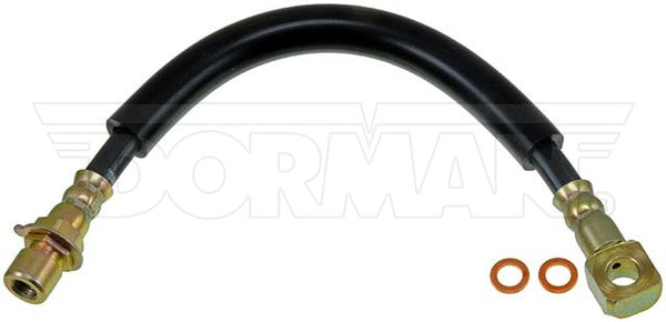 FLH380280- 91-99 GM S-Series 2wd Front Brake Hose; Rubber