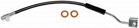 FLH380299- 90-96 Ford F-150 & Bronco Left Front Brake Hose; Rubber