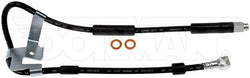 FLH380541- 97-01 Dodge Ram 4wd RWABS Left Front Brake Hose; Rubber