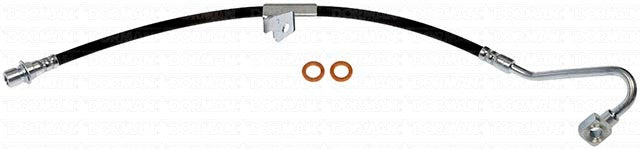 FLH381032- 98-00 GM S-Series 4wd Left front Brake Hose; Rubber - SSTubes