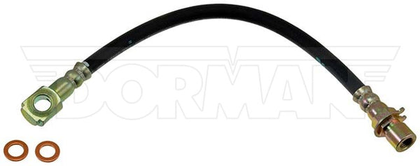 FLH381064- 98-05 Blazer or Jimmy with ZR2 / High Wider, Left or Right Rear Brake Hose; Rubber - SSTubes