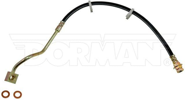 FLH381185- 99-04 Ford F-250 / F-350 Super Duty 4WD AWABS Left Front Brake Hose; Rubber - SSTubes