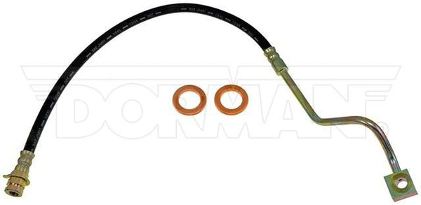 FLH381186- 99-04 F-250 / F-350 Super Duty 4WD RWABS & AWABS Right Front Brake Hose; Rubber - SSTubes