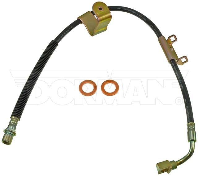 FLH620052- 99-07 GM Truck & Hummer H2 Right Front Brake Hose; Rubber - SSTubes