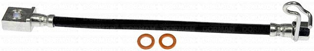 "FLH621018- 04-08 Ford F-150 with 8.8"" or 9.75"" Axle Right Rear Brake Hose; Rubber"