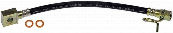 "FLH621393- 04-08 Ford F-150 with 10.25"" Axle Right Rear Brake Hose; Rubber - SSTubes"