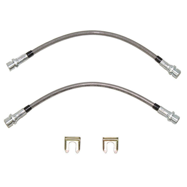 HSP0035SS- 08-14 Tundra 4wd Rear Drop Brake Hose (Right); Stainless - SSTubes