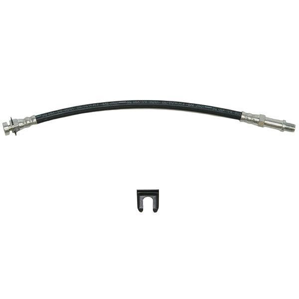 HSP1693SS- 62-66 Chevy II/Nova; Front Drum Brake Hose; Stainless