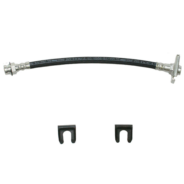 HSP4345OM- 67-69 Dodge/Plymouth A-Body, Dart, Barracuda, Valiant, Swinger, w/ 9 inch Drum; Front Brake Hose; Rubber - SSTubes