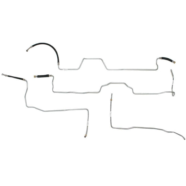 TGL0402OM- 04-07 GM 1500 Extended Cab/Short Bed V8, Fuel Line Kit; Steel - SSTubes