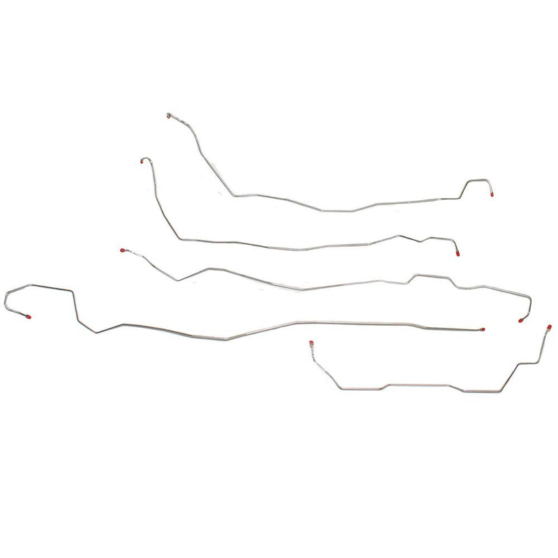 TKT0201SS- 02-07 Hummer H2, Front Brake Line Kit; Stainless