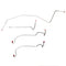 WKT8901SS - 89 D250, 2WD, Reg w/ Long, CTD; Front Brake Line Kit; Stainless