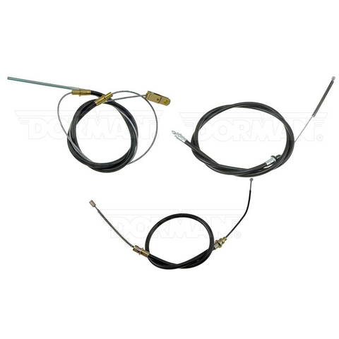 BCR05- 73-74 Mopar B-Body Parking Brake Cable Kit