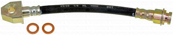 FLH381143- 99-04 Jeep Grand Cherokee Left Rear Brake Hose; Rubber - SSTubes