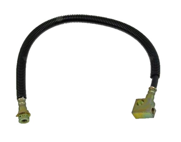 FLH620180- 01-02 Dodge Ram 2500/3500 Rear Drop Brake Hose with Rear Disc; Rubber - SSTubes