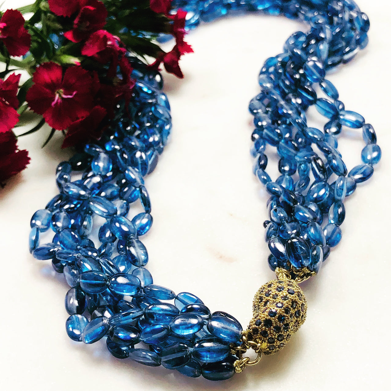 Kyanite Necklace.