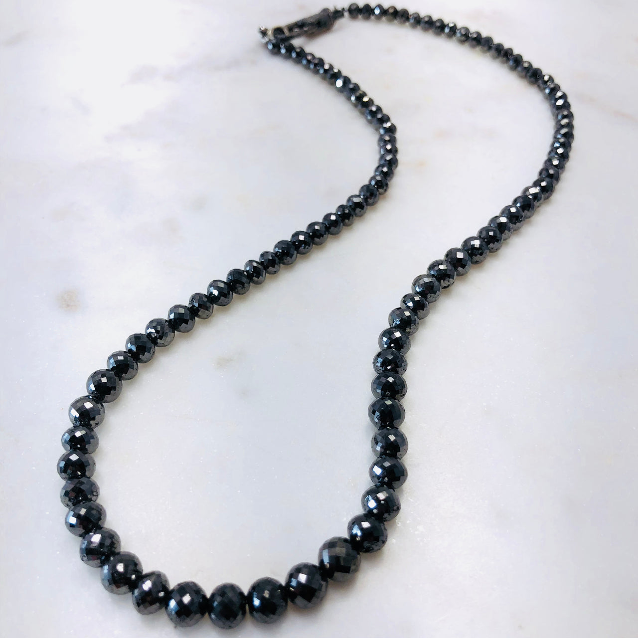 Black Diamond Necklace.