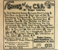 Songs of the C.S.A. - Bobby Horton - Volumes 1-6