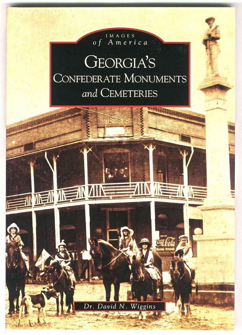 Books, Georgia's Confederate Monuments and Cemeteries