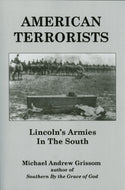 Books, American Terrorists: Lincoln's Armies In The South