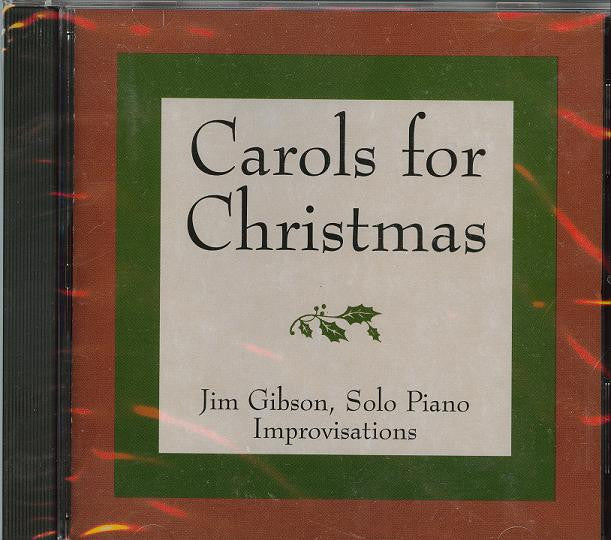 Music CD, Carols for Christmas - Jim Gibson