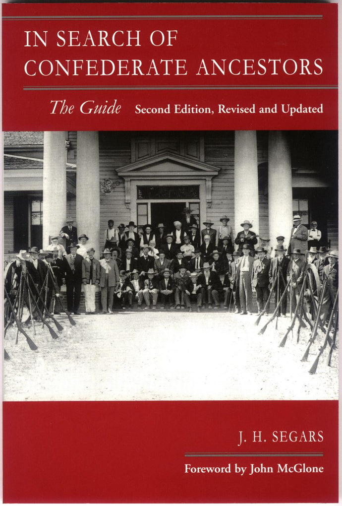 Books, In Search of Confederate Ancestors: The Guide-OUT OF STOCK