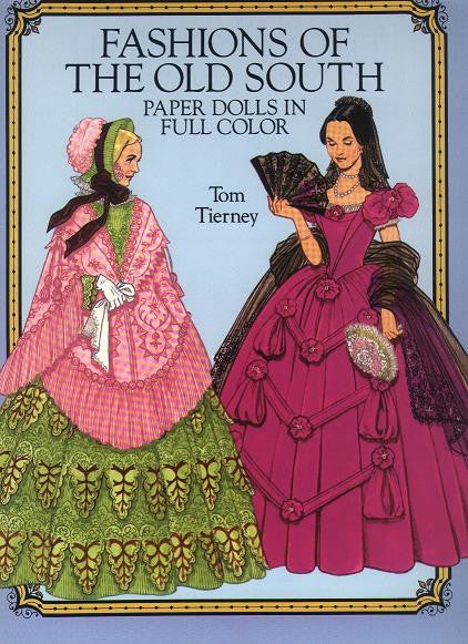 Children's Items, (Paper Dolls) Fashions of the Old South