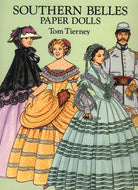 Children's Items, (Paper Dolls) Southern Belles