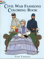 Children's Items, (Coloring Book) Civil War Fashions