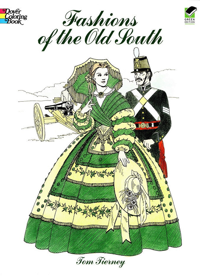 Children's Items, (Coloring Book) Fashions of the Old South