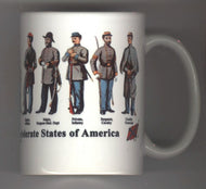 Confederate Coffee Mugs