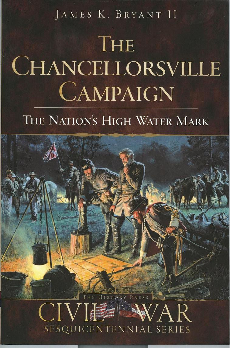 Books, The Chancellorsville Campaign,The Nation's High Water Mark