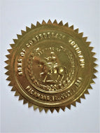 Sons of Confederate Veterans Gold Seals