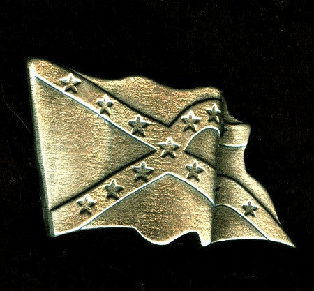Battle Flag Hat Pin