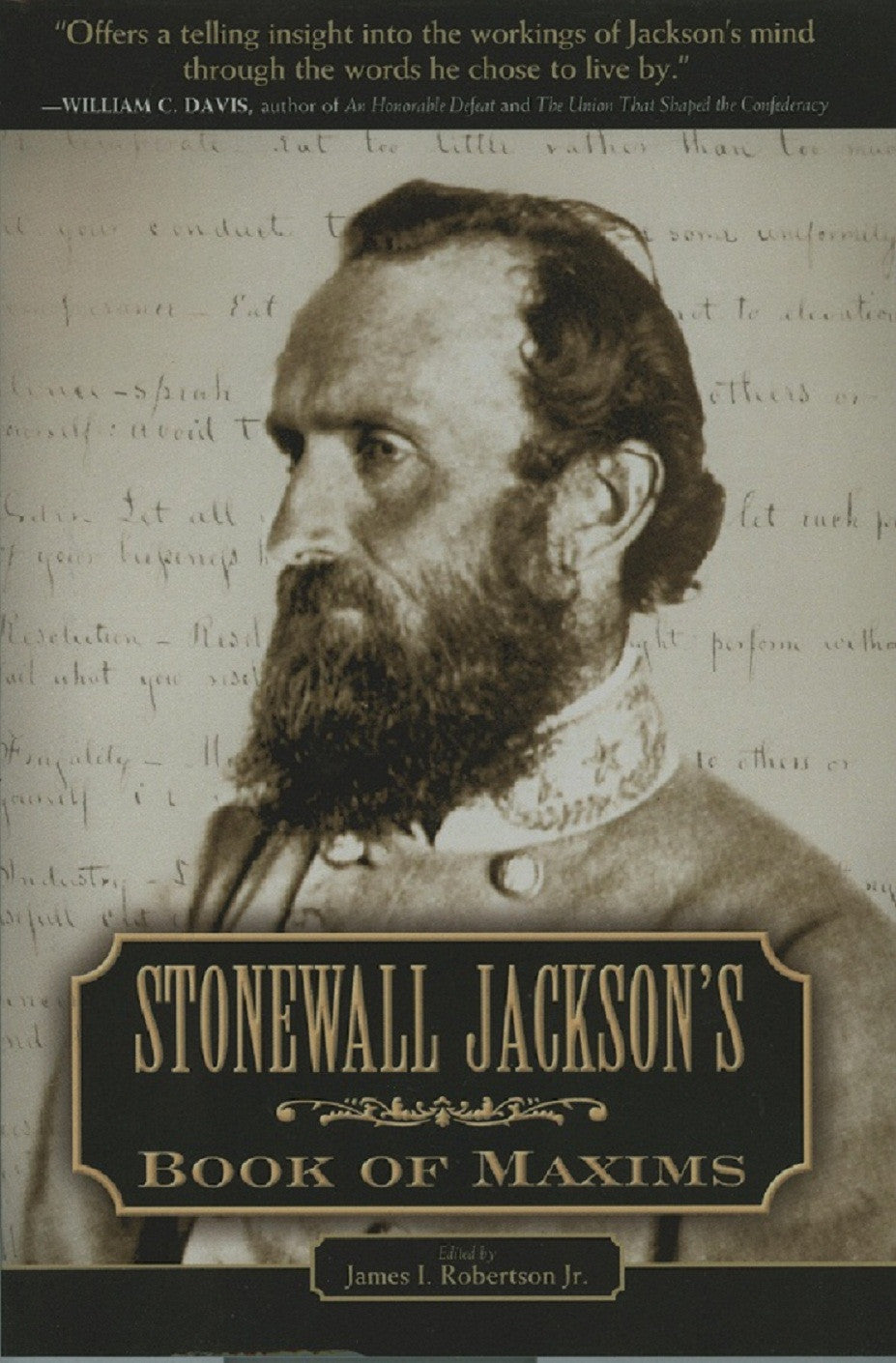 Books, Stonewall Jackson's Book of Maxims