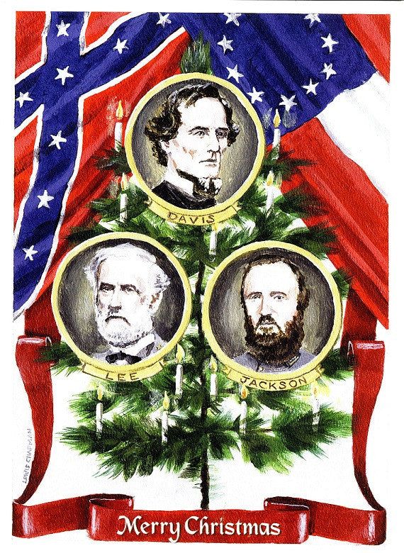 Christmas, Confederate Christmas Cards